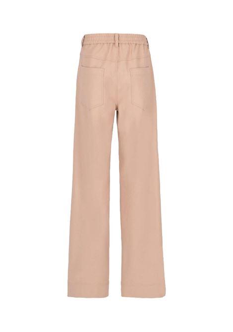 Pantalone in flanella di lana vergine bistretch MOMONI | Pantaloni | MOPA0200095