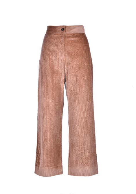 Giaguaro Stretch corduroy trousers MOMONI | Trousers | MOPA0210050