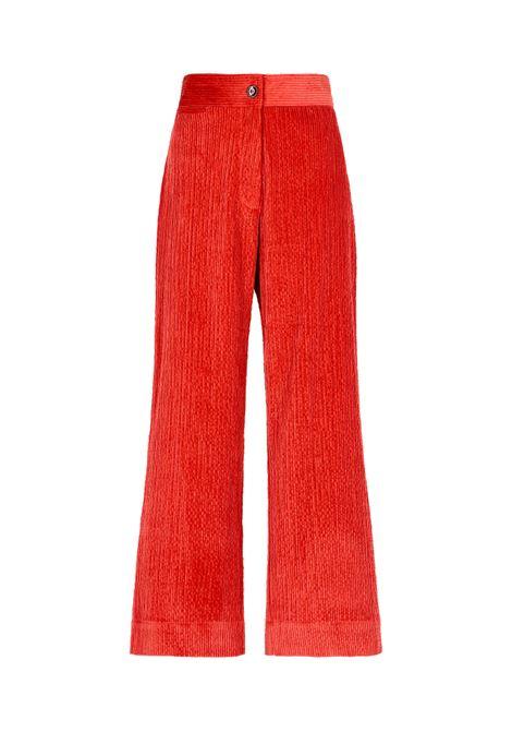 Giaguaro Pantalone in velluto stretch a coste MOMONI | Pantaloni | MOPA0210350