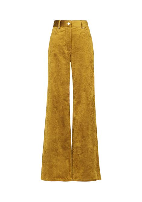 Olivina trousers in viscose and cotton corduroy MOMONI | Trousers | MOPA0250130