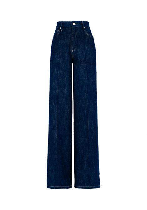 Pantalone denim stretch blu MOMONI | Pantaloni | MOPA0290890