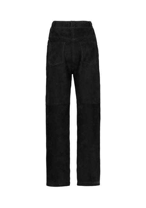 Sodalite suede trousers MOMONI | Pants | MOPA0320990