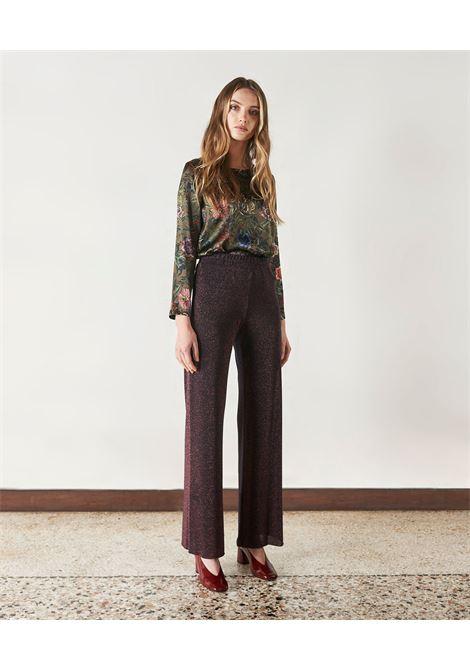 Pantalone in jersey lurex MOMONI | Pantaloni | MOPA0350380