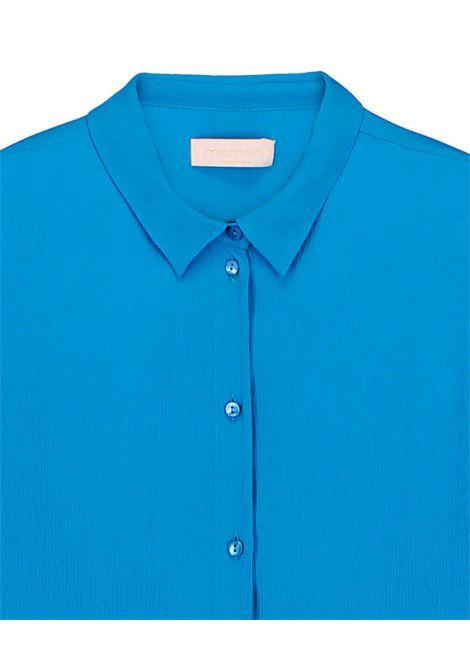 camicia in creponne misto seta carta da zucchero MOMONI | Camicie | MOSH0020861