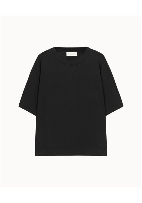 T-shirt oversize in cotone nero MOMONI | Top & T-shirt | MOTS0040990