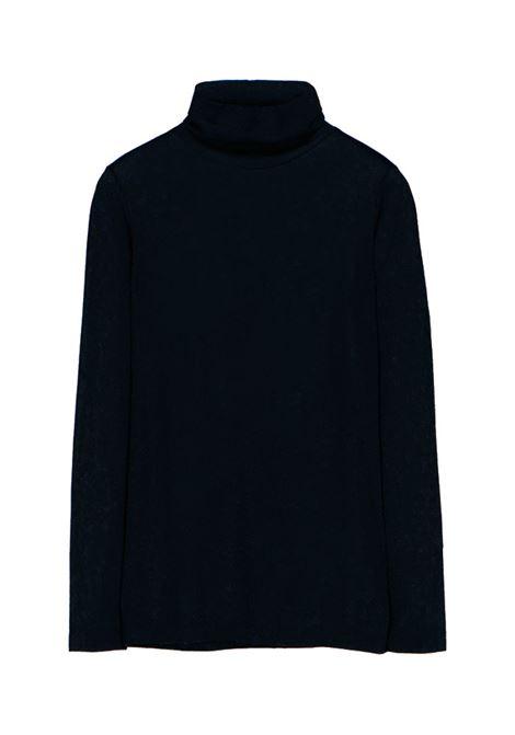 High neck T-shirt in black lurex jersey MOMONI |  | MOTS0050990