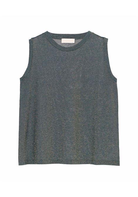 Canotta in jersey lurex bosco MOMONI | Top & T-shirt | MOTS0060789