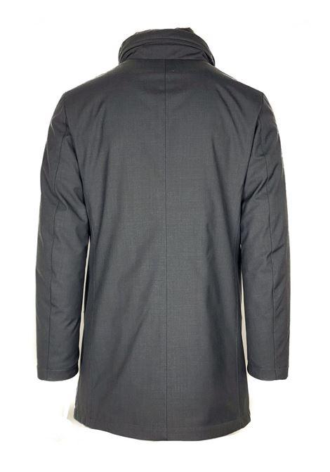 Giaccone lana tecnica pettorina removibile MONTECORE | Cappotti | 2920CX103 20256498