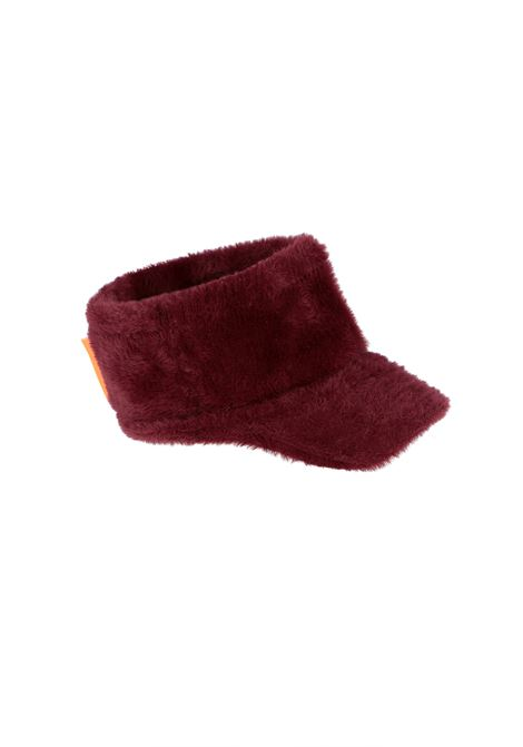Plum knitted hat OOF | Hats | OFAC30110460