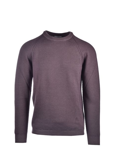 Virgin wool crewneck sweater PAOLO PECORA | Knitwear | A035-F0101140