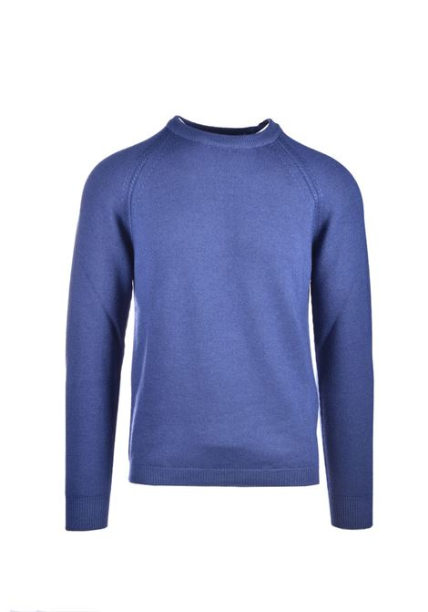 Virgin wool crewneck sweater PAOLO PECORA | Knitwear | A035-F0106674