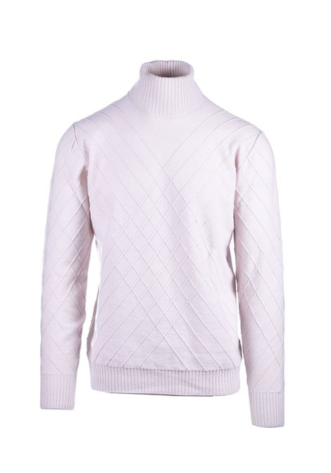 Virgin wool turtleneck sweater PAOLO PECORA | Knitwear | A041-70771342