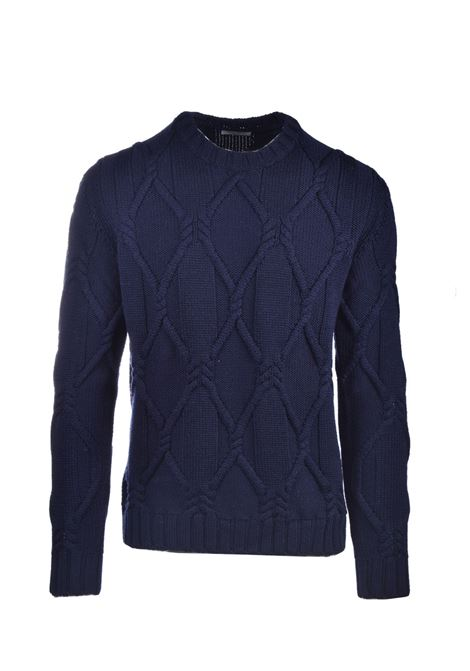 Virgin wool crewneck sweater PAOLO PECORA | Knitwear | A066-70126728