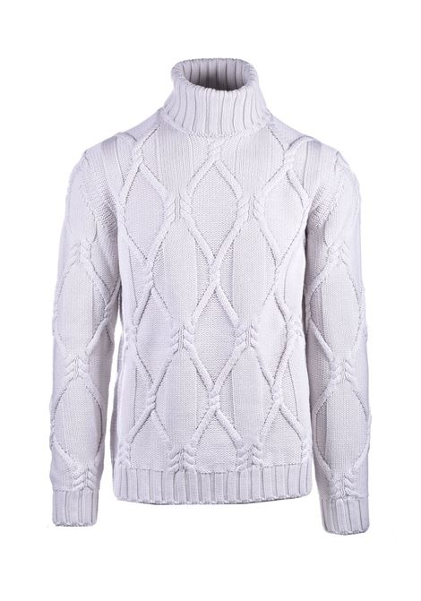 Virgin wool turtleneck sweater PAOLO PECORA | Knitwear | A067-70121342