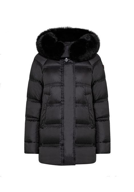 Takan mq 02 fur Down jacket with fox fur PEUTEREY |  | PED3372NER