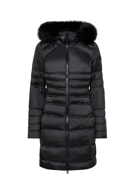 Davis fur Cooler days long down jacket with fur PEUTEREY |  | PED3274NER