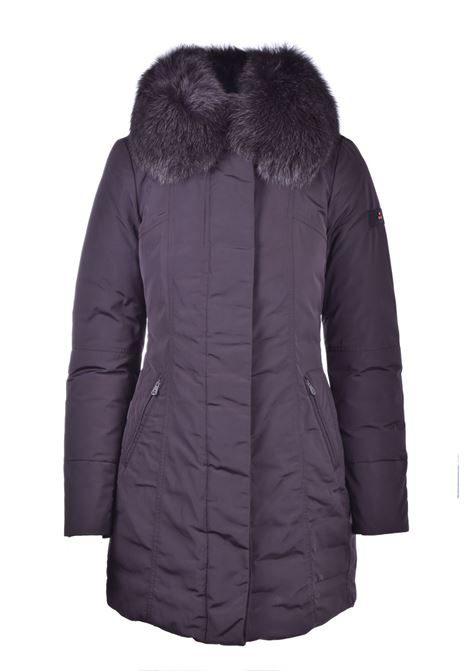 Metropolitan Cappotto slim fit con pelliccia PEUTEREY | Cappotti | PED3617372