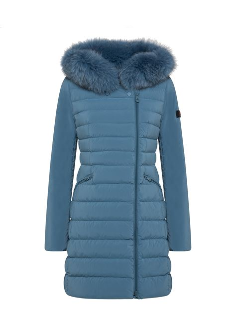 seriola Slim fit down jacket with fur PEUTEREY |  | PED3657174