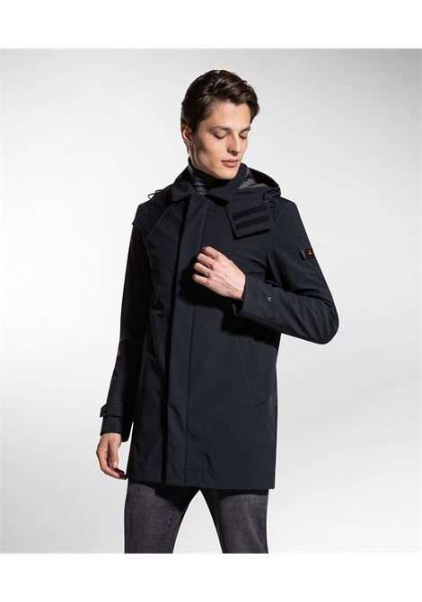 Groff kp - trench coat in padded technical fabric PEUTEREY | Overcoat | PEU3310NER