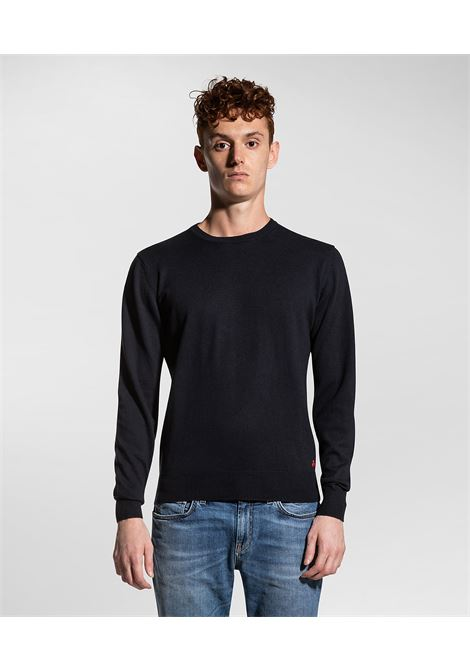 exmoor - Crewneck sweater in cotton and wool PEUTEREY | Sweaters | PEU3638215