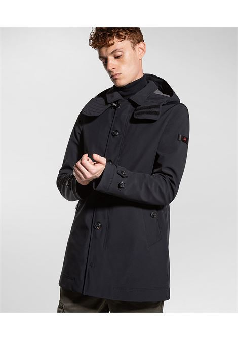 Trebbio kp01 - Padded technical trench coat PEUTEREY | Overcoat | PEU3700NER