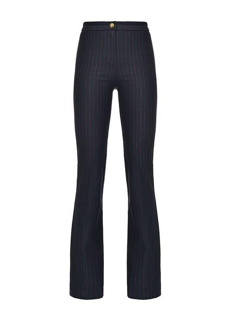 Pantaloni flared gessati PINKO | Pantaloni | 1G15CJ-8141ER1