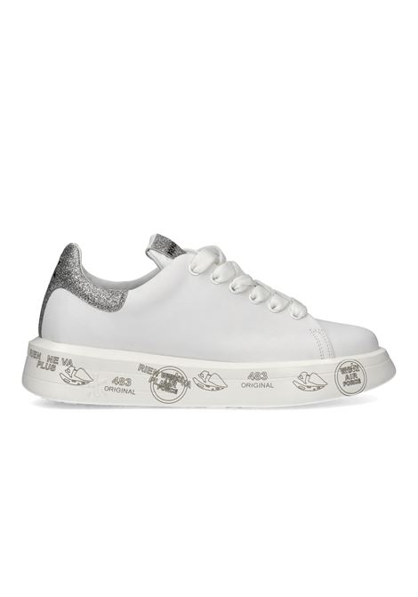 BELLE 4904 White Sneakers with glitters PREMIATA | Shoes | BELLE4903