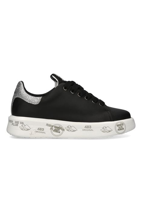 BELLE 4904 Black Sneakers with glitters PREMIATA | Shoes | BELLE4904