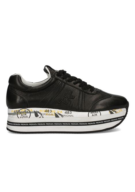 BETH 4039 Sneaker with logoed platform PREMIATA | Shoes | BETH4039