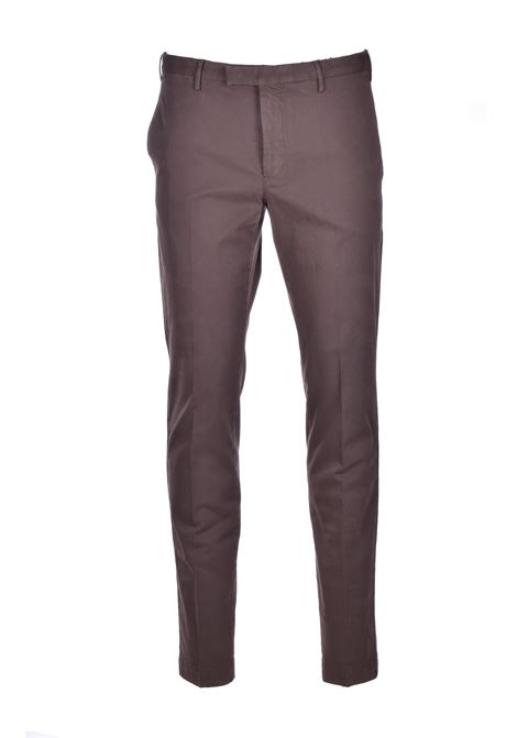 Skinny chino trousers - brown PT01 | Pants | CP-KTZEZ00MOB-NK030180