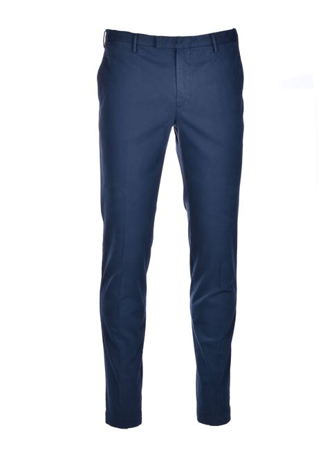 Skinny chino trousers - dark blue PT01 | Pants | CP-KTZEZ00MOB-NK030369