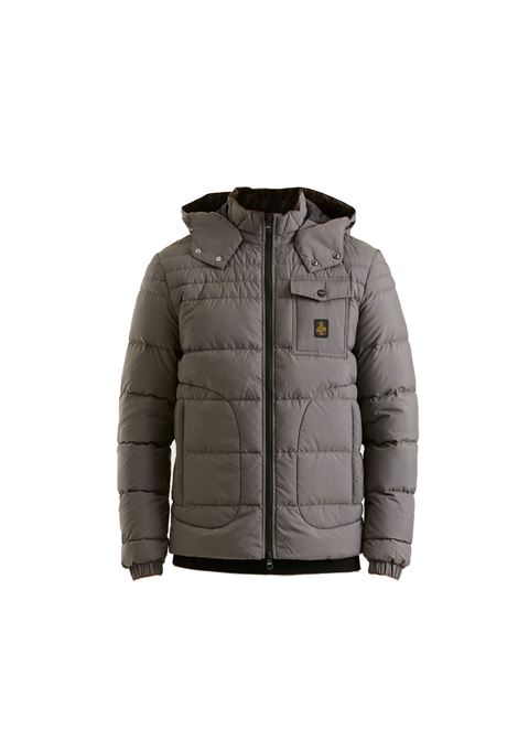 Medium gray benson jacket REFRIGIWEAR | Jackets | RM0G06100NY0181G04892