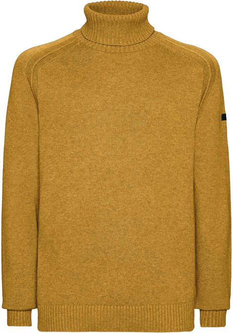 Yellow high neck sweater RRD | Knitwear | 2011931