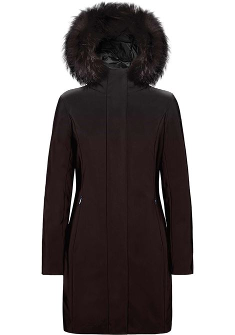 Winter long lady parka with fur RRD | Overcoat | 20501FT40