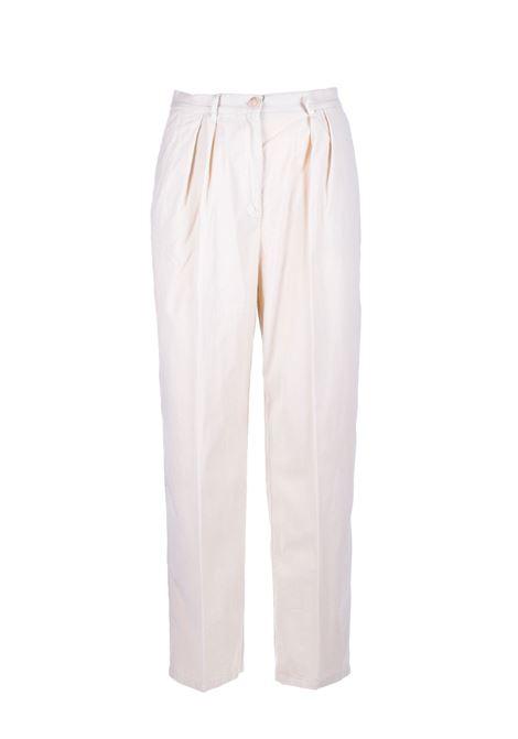 Constan pantaloni vita alta in micocostine SEMICOUTURE | Pantaloni | Y0WR03A41-0