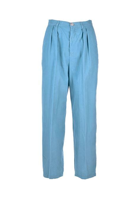 Constan pantaloni vita alta in micocostine SEMICOUTURE | Pantaloni | Y0WR03O84-0