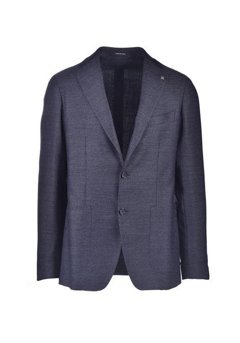 Blazer monopetto in lana vergine grigio TAGLIATORE | Giacche | 1SMC22K 55UIG063S3534