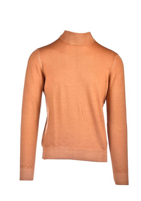 Turtleneck sweater in virgin wool TAGLIATORE | Knitwear | THEO517 GSI20-10331