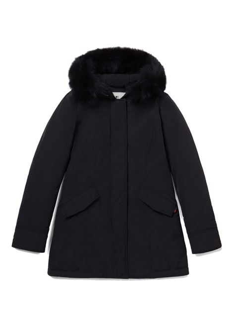 Arctic Parka luxury fox fur - black WOOLRICH | Coat | WWOU0323FR-UT0573100