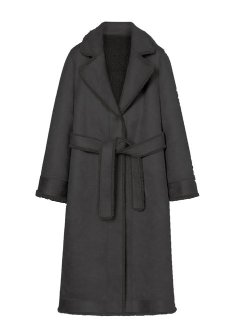 Cappotto vestaglia in teddy reversibile ATTIC AND BARN | Cappotti | ATCO0090990