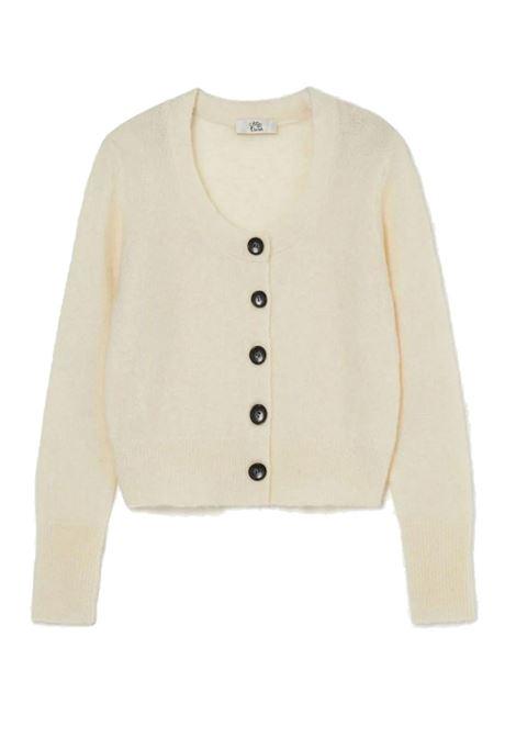 Cardigan corto in kid mohair stretch ATTIC AND BARN | Maglieria | ATKN0070200