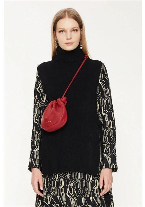 Maglia collo alto senza maniche in lana mohair stretch ATTIC AND BARN | Maglieria | ATKN0130990