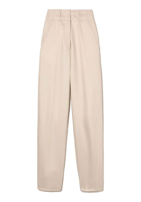 Pantalone in bull di tencel con tasche ATTIC AND BARN | Pantaloni | ATPA0110998