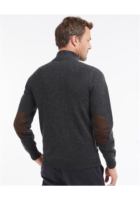 Cardigan con zip e patch Barbour BARBOUR | Maglieria | MKN0731CH51