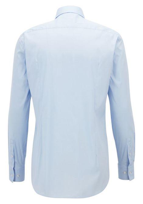 Slim-fit shirt in stretch poplin BOSS | Shirts | 50260064450