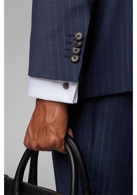 Cotton shirt with Kent style collar. BOSS | Shirts | 50308163100