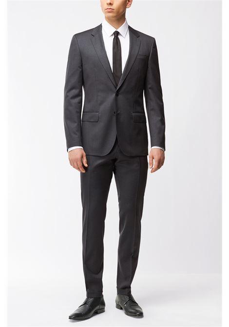 Slim-fit jacket hayes - dark grey BOSS | Blazers | 50318498021