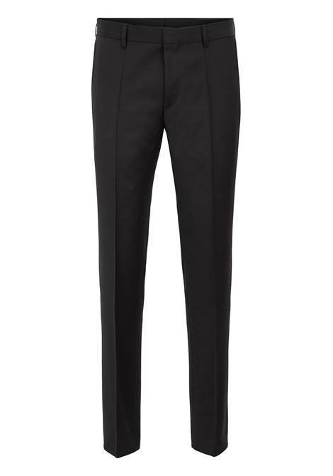 Pantaloni classici slim fit in pura lana vergine BOSS | Pantaloni | 50318499C001