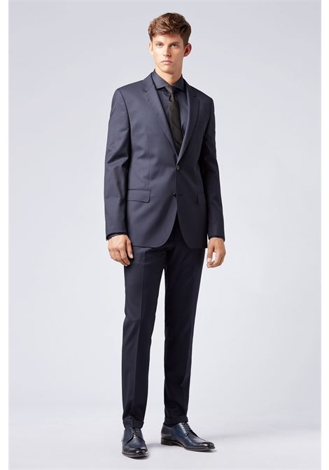 Pantaloni extra slim fit in lana vergine BOSS | Pantaloni | 50320555401