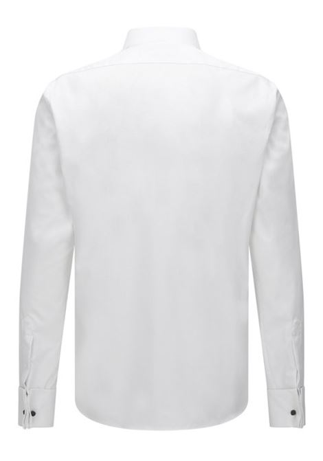 Regular-fit business shirt in cotton with collar BOSS | Shirts | 50327692100
